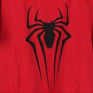 NWT mens L Spider Man red short sleeve T-shirt